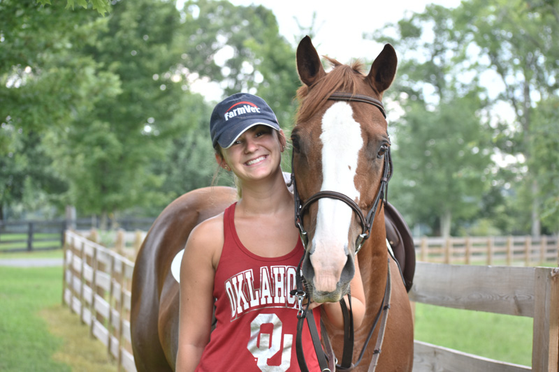 Assistant Trainer and Hunter Jumper Instructor: Katie Spoon
